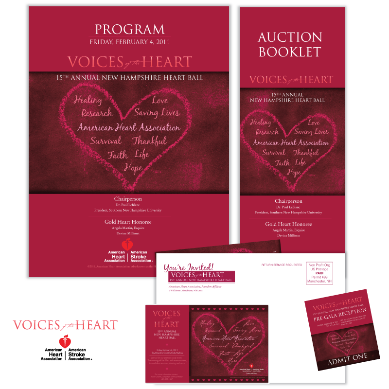 Print Marketing - American Heart Association