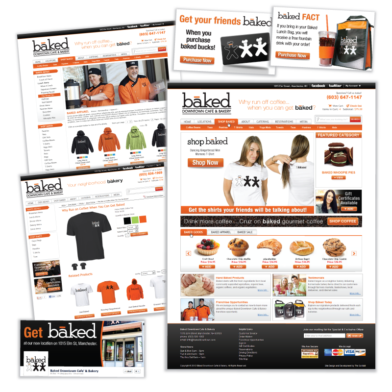 Baked Downtown Website - HRConcepts, LLC