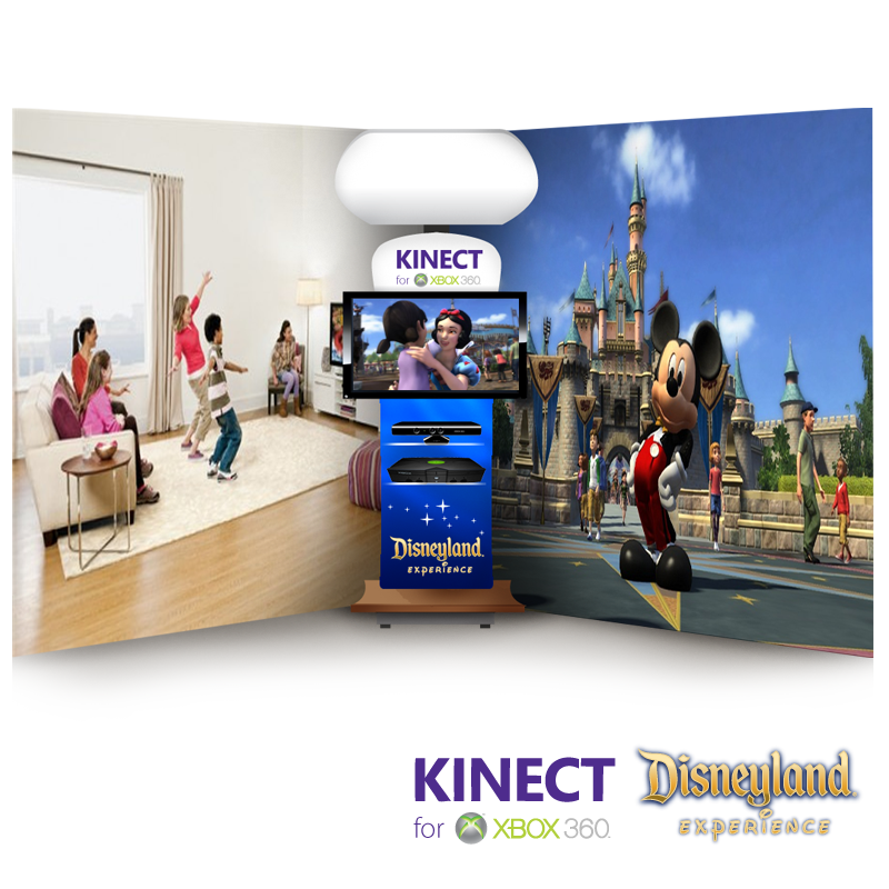 Xbox 360 Kinect Disneyland Experience - Disney/XBOX