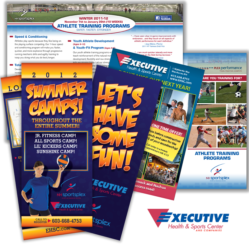 Print Collateral - Executive Health & Sports Center