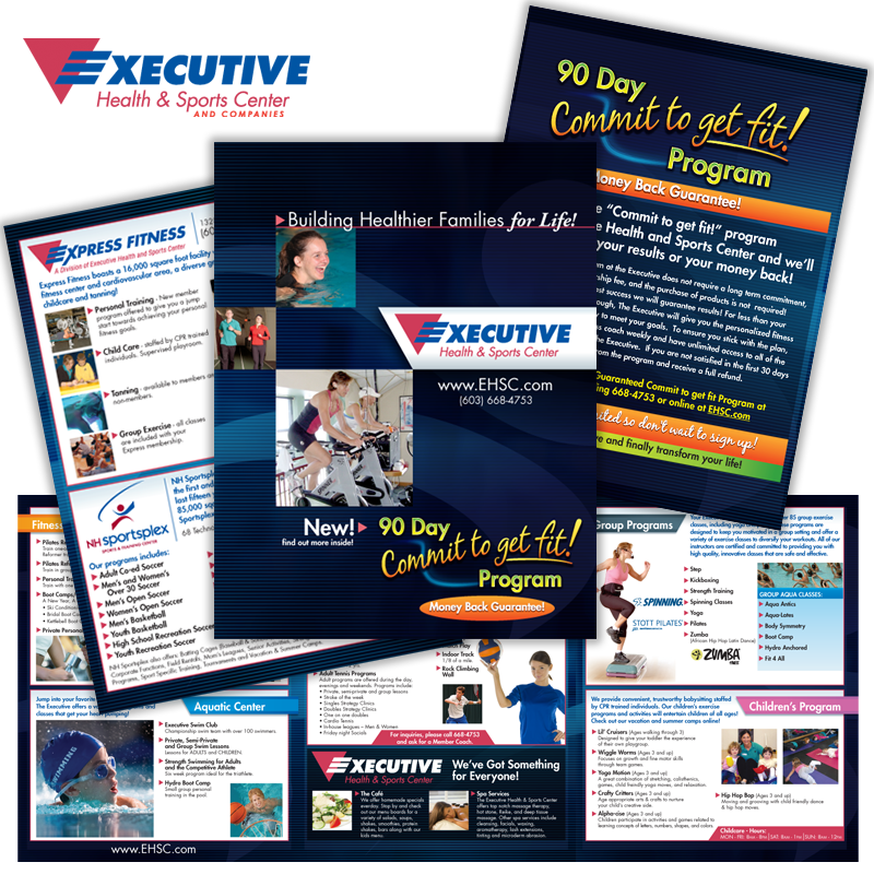 Large Brochure - Executive Health & Sports Center