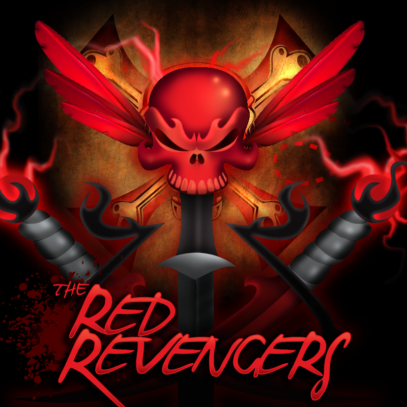The Red Revengers Branding Development & Illustrations - The GeoPirates