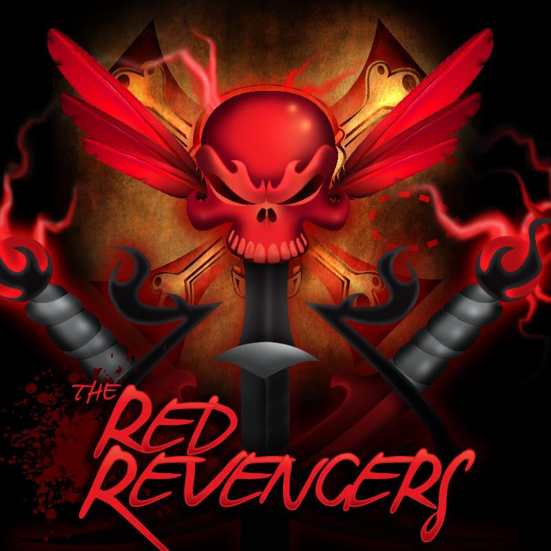 The Red Revengers Branding Development & Illustrations - The GeoPirates