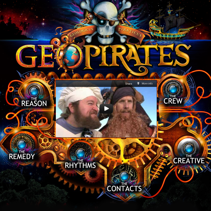 Website Design & Development - The GeoPirates