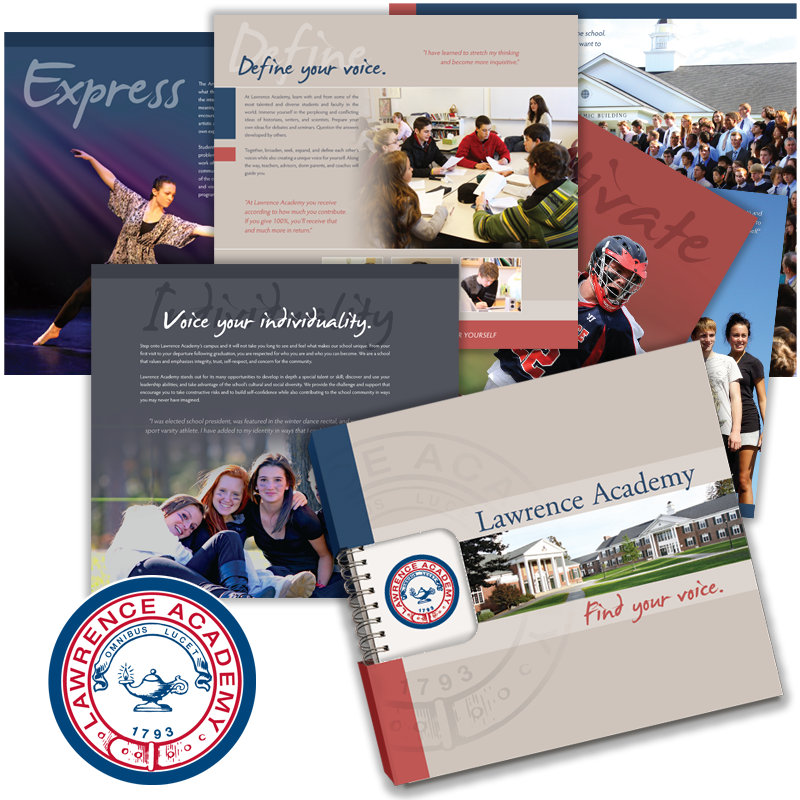 Viewbook Design - Lawrence Academy