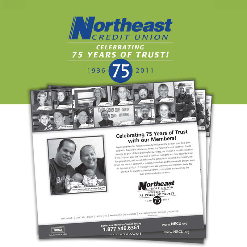 Newspaper Advertisements - NorthEast Credit