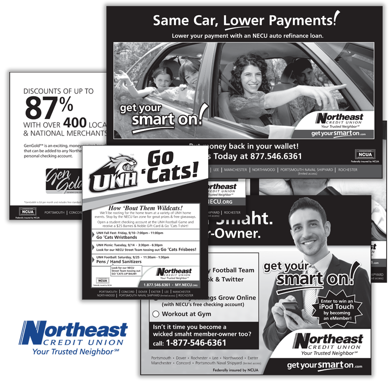 Get Your Smart On Campaign - NorthEast Credit Union