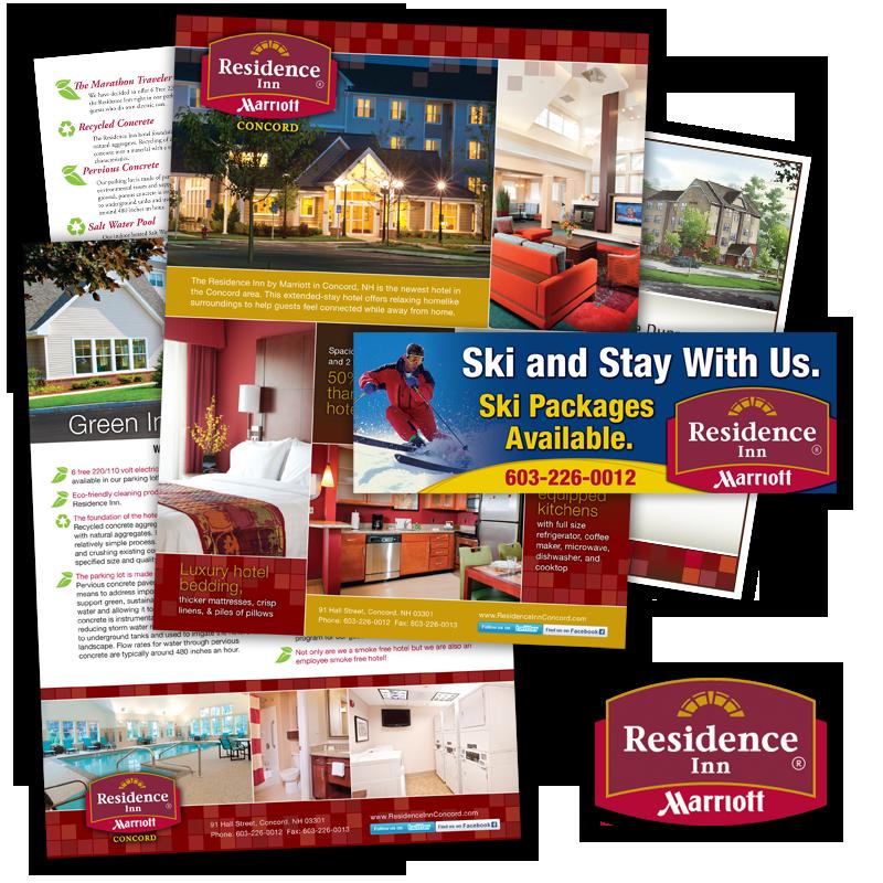 Print and Web Communications - Residence INN, Marriott