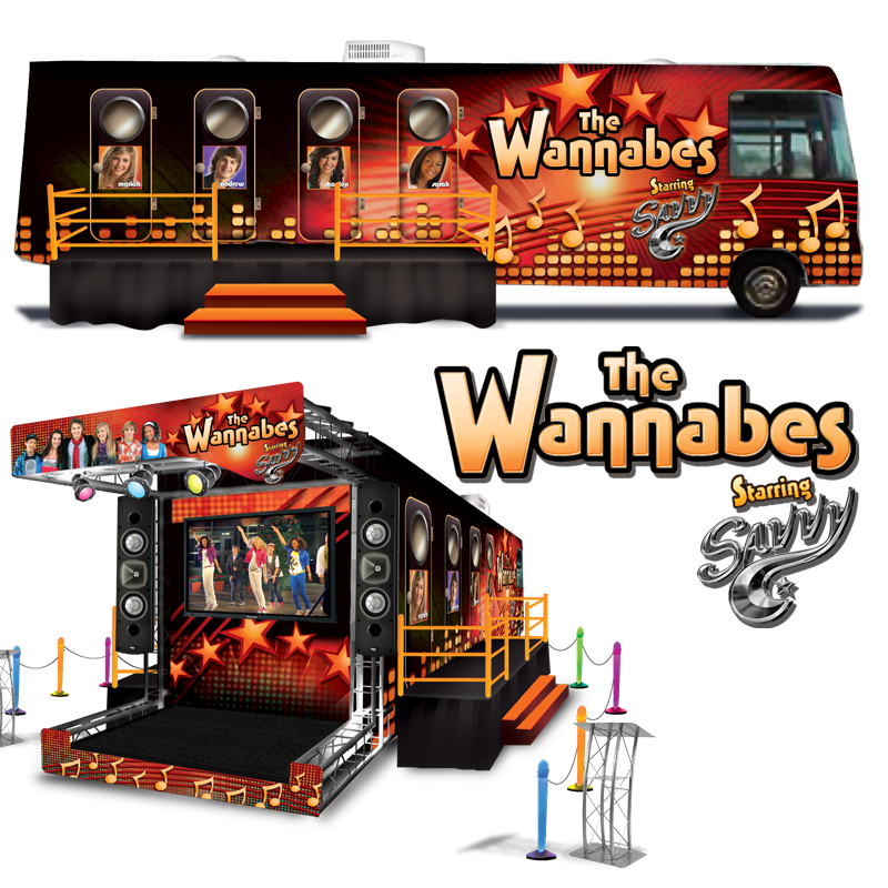 The Wannabes Traveling Experience - The Wannabes starring Savvy