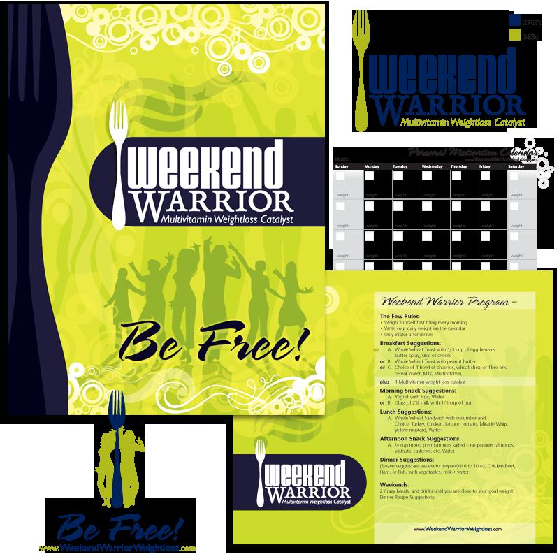 Weekend Warrior Print Material