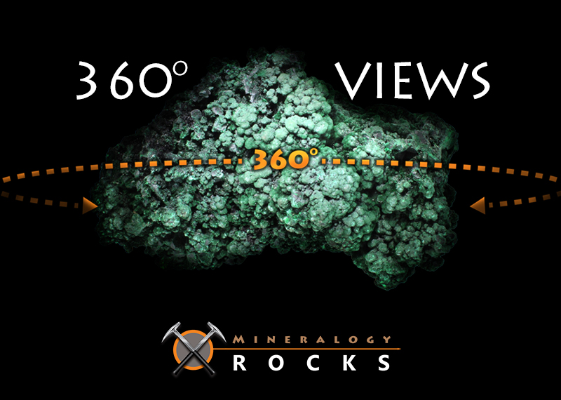 Mineralogy Rocks 360 Degree Product Views