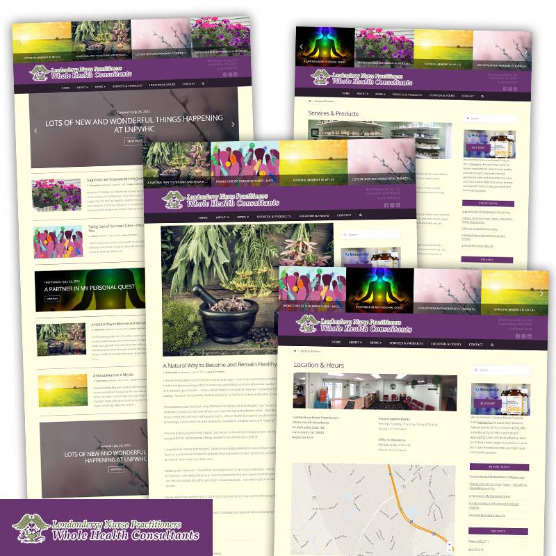 Whole Health Consultants - Responsive Website Design & Development