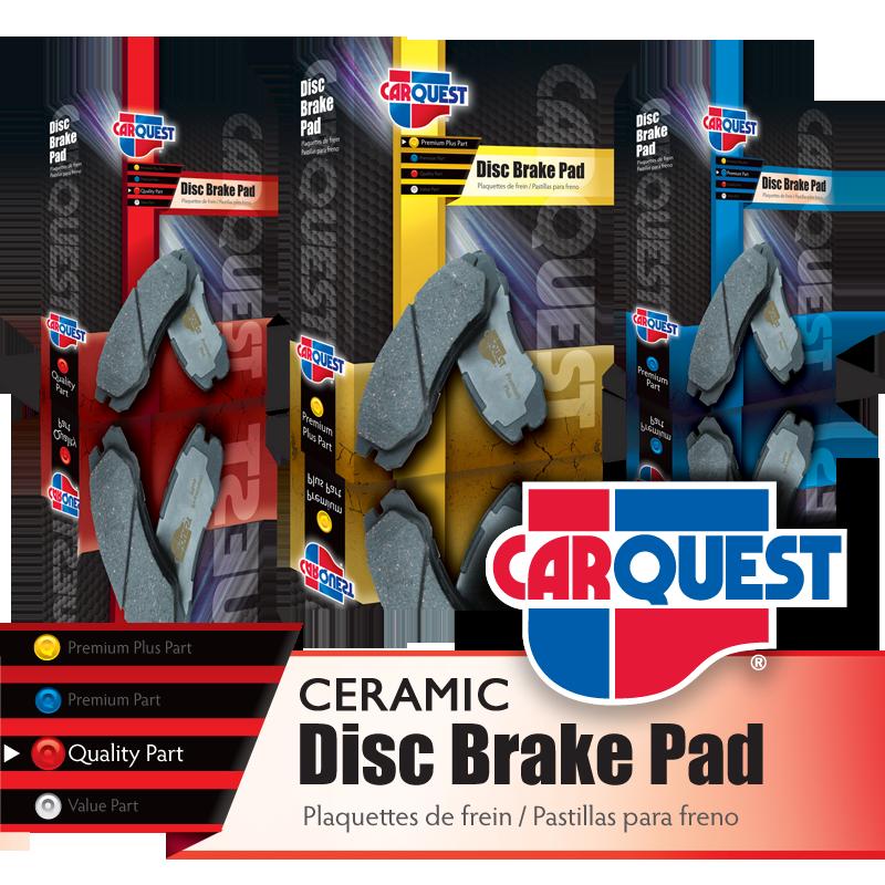 Disc Brake Pad Retail Boxes - CarQuest