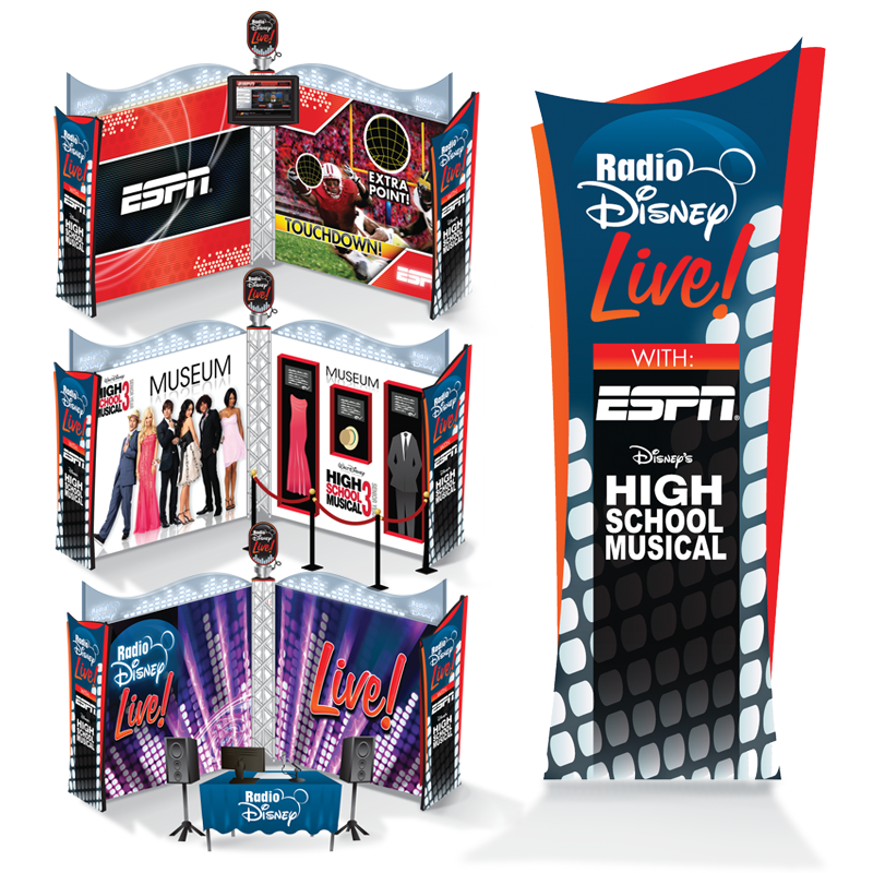 ESPN / High School Musical / Radio Disney Mobile Experience - Radio Disney