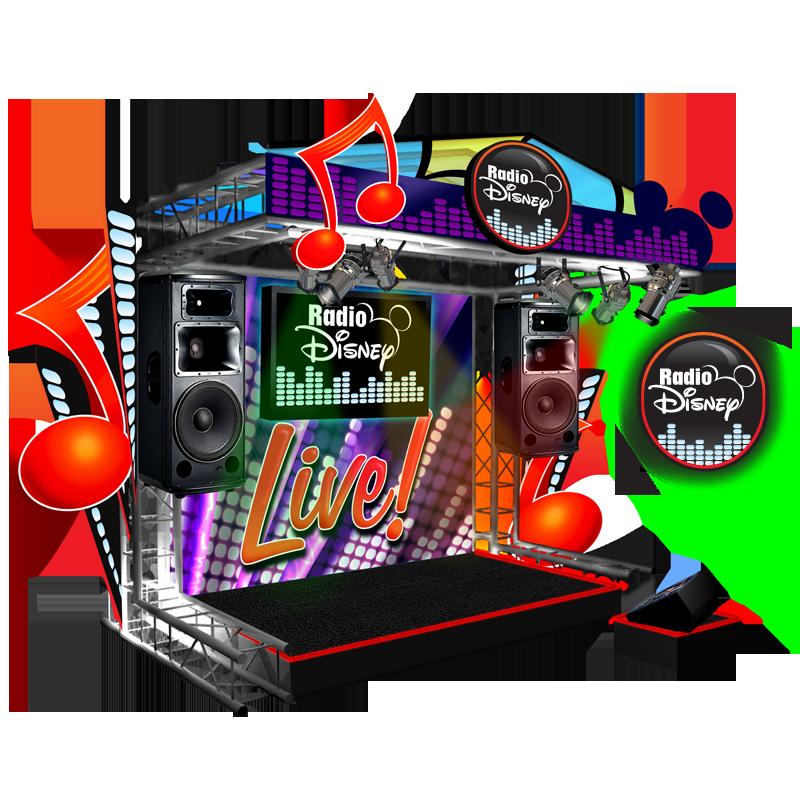 Radio Disney Karaoke Stage - Radio Disney