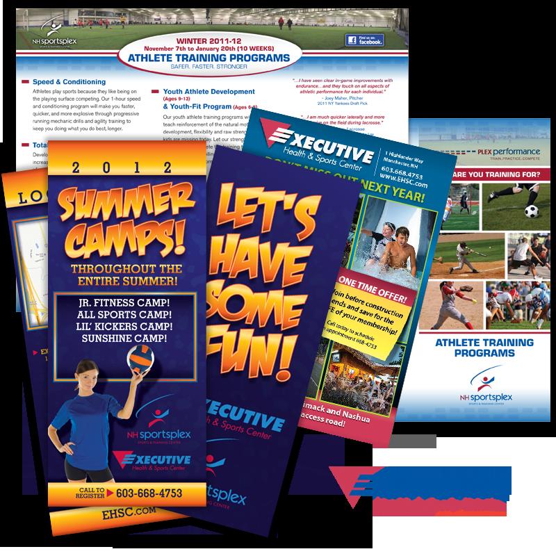 Print Collateral - Executive Health & Sports Center