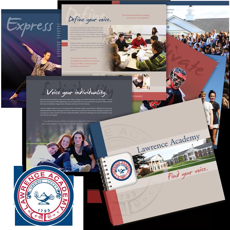 Viewbook Design - Lawrence Academy