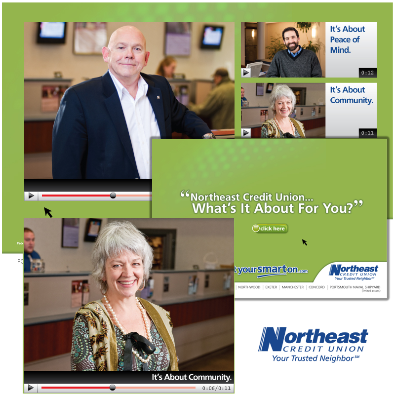 """It's About"" Commercial - NorthEast Credit Union"