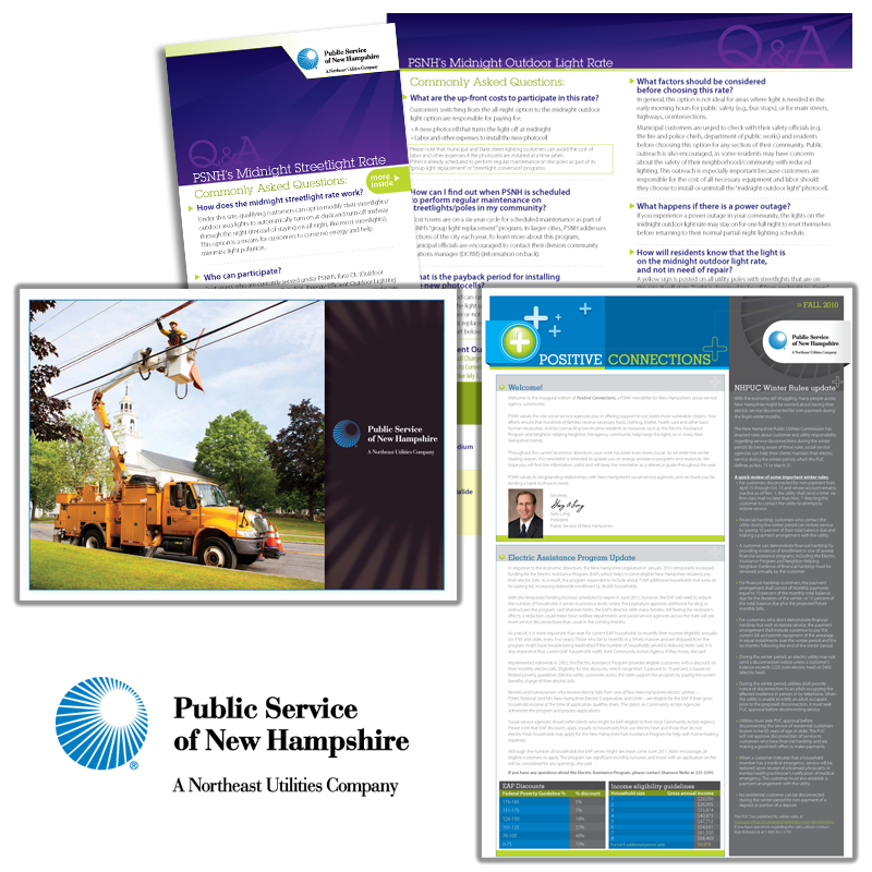 Print Collateral - PSNH